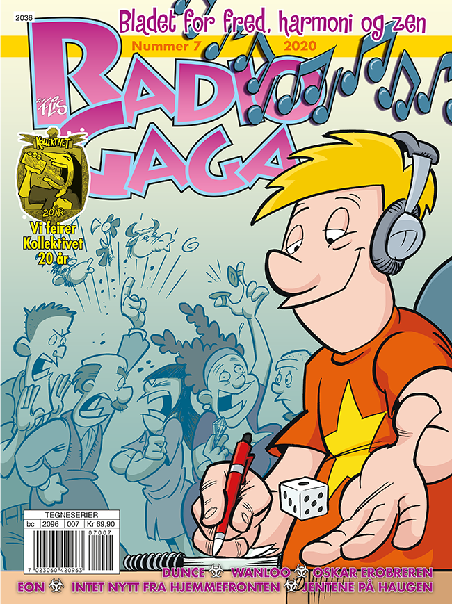 Radio Gaga 7 2020 cover